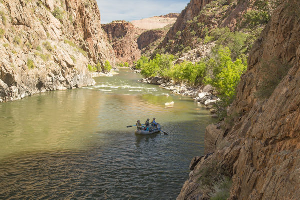 On the Raft - Fly Fishing the Gunnison Gorge