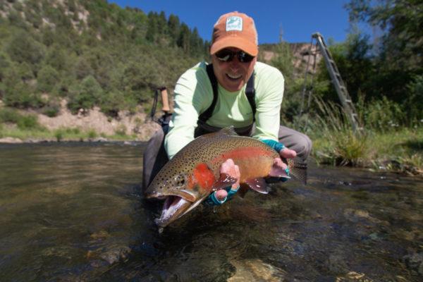Matt McCannel Sight Fly Fishing Catch